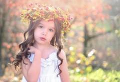 Милая девочка с цветками картинки на рабочий стол