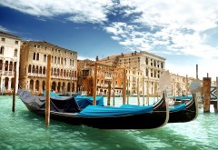 Венеция гандолы картинки на рабочий стол
