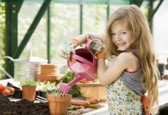 Девочка в саду картинки на рабочий стол