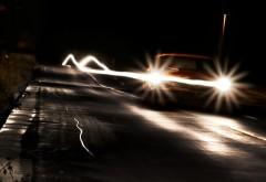 Машина ночью картинки на рабочий стол