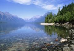 Горное озеро картинки на рабочий стол