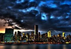 Ночной город картинки на рабочий стол