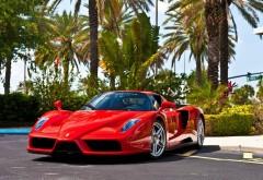 Ferrari Enzo красный автомобиль картинки на рабочий стол