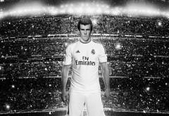 Гарет Бэйл Реал 2014 черный белые картинки на рабочий стол