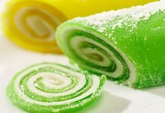 Зеленый и желтый сладкий мармелад картинки