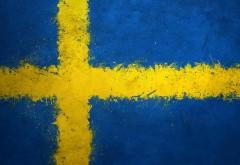Флаг Швеция заставки на рабочий стол hd
