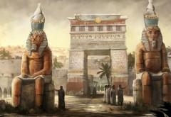 Египет рисованные заставки на рабочий стол hd