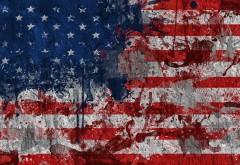 Флаг США рисованные обои на рабочий стол