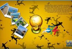 Чемпионат мира по футболу в Бразилии открытки