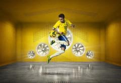 футбол, бразилия, футболист, спортсмен, 3д, hd, заставки