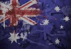 Спорт, Австралия, флаг, футбол заставки на рабочий стол…