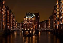 Город Гамбург Германия заставки на рабочий стол hd