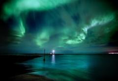 Необыкновенной красоты ночное небо