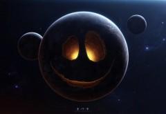 Смешная планета в космосе картинки для рабочего стола …
