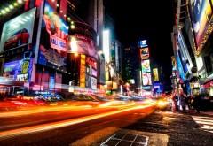 Ночной Нью-Йорк картинки для рабочего стола скачать