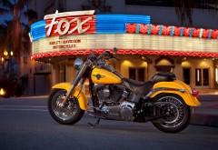 Мотоцикл Харлей Дэвидсон желтый картинки для рабочего…