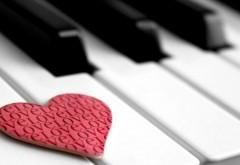 Сердце на пианино картинки для рабочего стола скачать