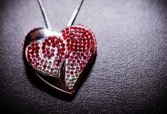 Прекрасный кулон, ювелирные изделия, сердце, романтика…