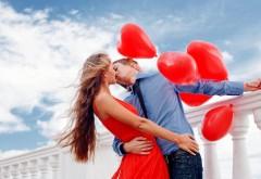 Милые пары с красными воздушными шарами картинки