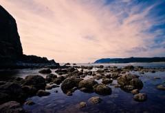 Каменный пляж картинки для рабочего стола скачать