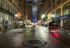 Вечерний город картинки для рабочего стола скачать