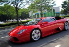 Красный спортивный атомобиль обои hd