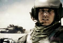 Пехотинец, армия, война, танк, оружие, солдат, картинки