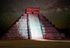 Пирамида под звездным небом картинки