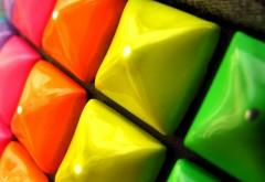 Кубик Рубика макро обои скачать абстрактные бесплатно