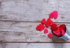 Розовые сердца букет фоновые заставки hd бесплатно скачать