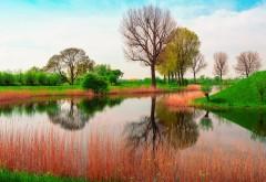 Природа весна река картинки для рабочего стола скачать
