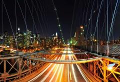 Ночной мост картинки для рабочего стола скачать