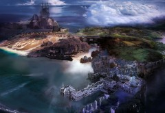 Остров омывающийся океаном