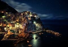 HD обои Ночной город Италии