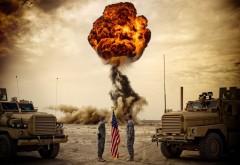 HD обои Солдаты на фоне взрыва