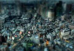 HD обои Фото игрушечного города