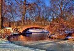 HD обои Фото зимней реки