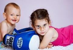 HD обои, малыши боксеры, спорт, дети, ребятишки