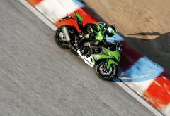 HD обои Фото мотоцикла кавасаки