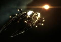 HD обои с космическим кораблем