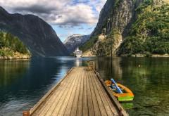 HD обои Природа Горы озеро бесплатно без регистрации