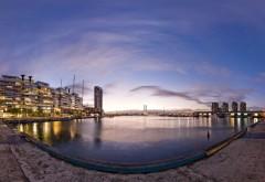 HD обои Фото городской набережной