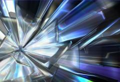 Абстрактные кристаллы широкоформатные HD обои скачать