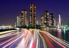 Снимок ночного мегаполиса