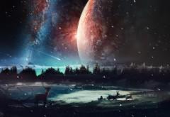 3D обои космоса в Заполярье