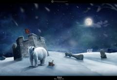 Полярный король белый медведь