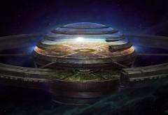 Космос, фэнтези, 3D, абстрактные, планета, HD обои, скачать