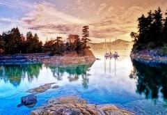 Фоновые заставки скачать прекрасного озера