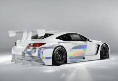 Lexus RC F GT3 Concept White заставки скачать