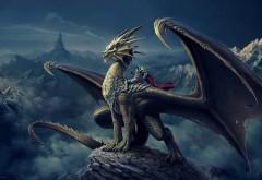 Удивительным зверь дракон обои hd бесплатно